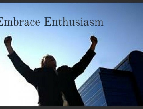 Don't accept waste of any resource, especially enthusiasm!