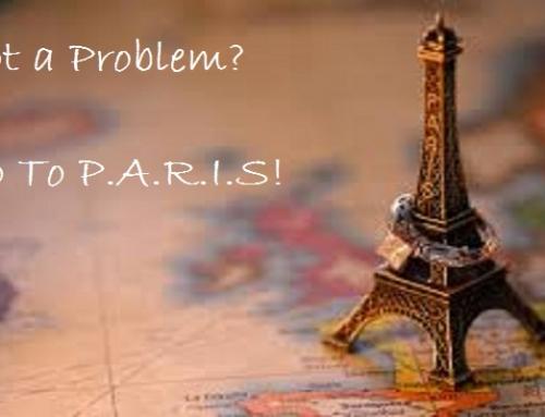 Got a Problem? Go to Paris